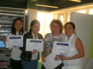francoise nicoloff and tomatis practitioners in manila, the philippines