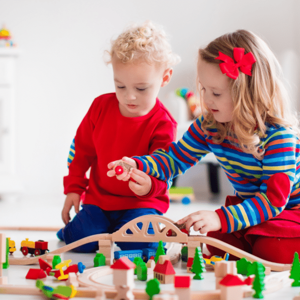 childrens playing and learning in NSW