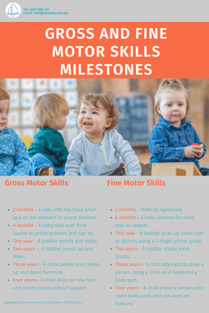muscle tone and motor skills