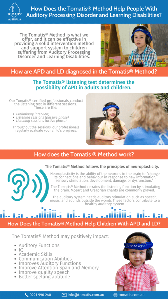 How tomatis method help people with APD and LD